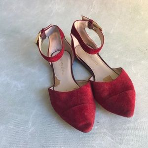 3/$20 Red Pointed Flats